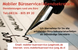 Mobiler Büroservice Jung